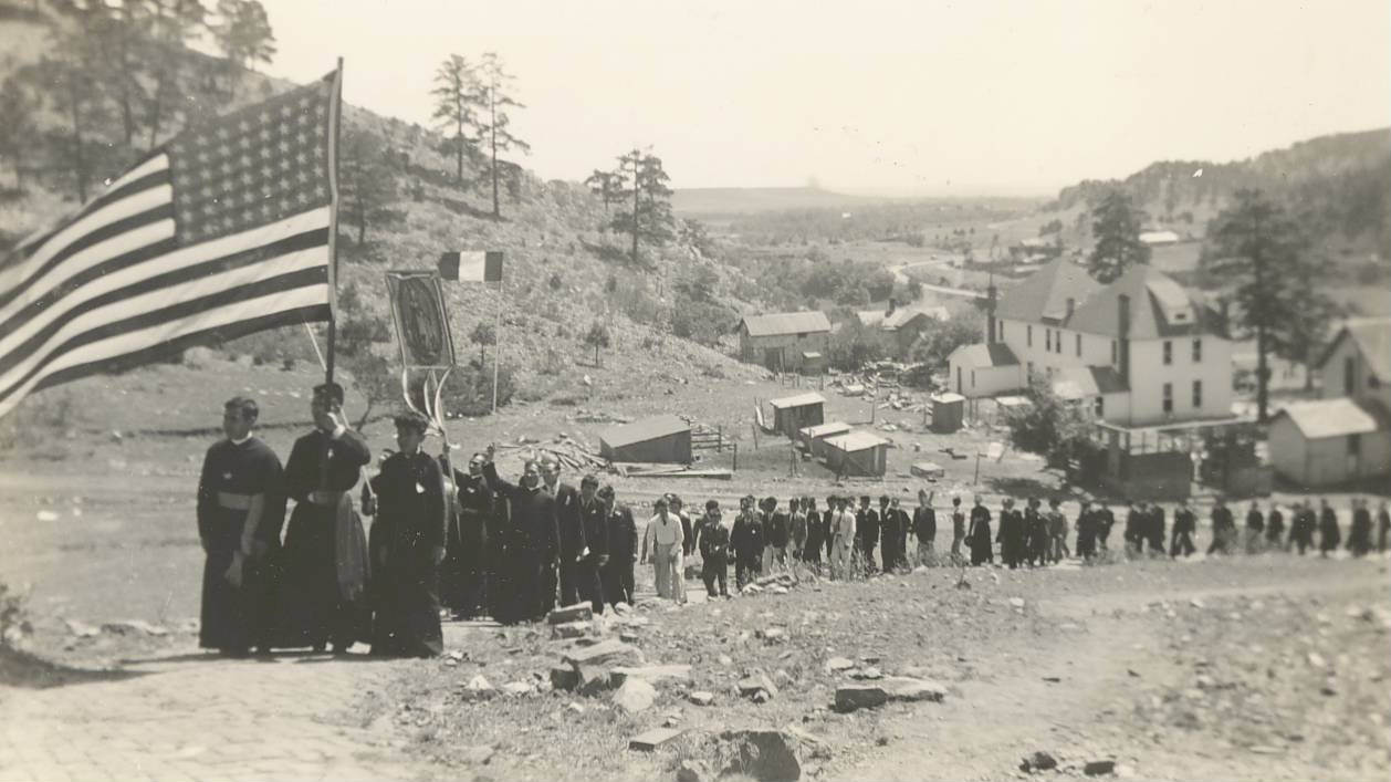 Our Lady of Guadalupe Procession during the Cristero War