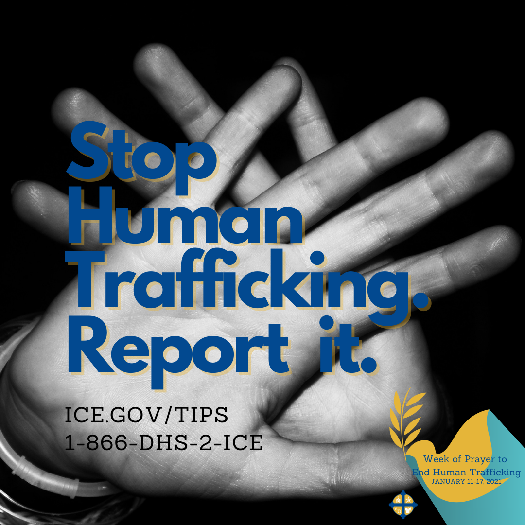 You can report suspected human trafficking by calling 1-866-DHS-2-ICE or online at ice.gov/tips #TexasPraystoEndHT